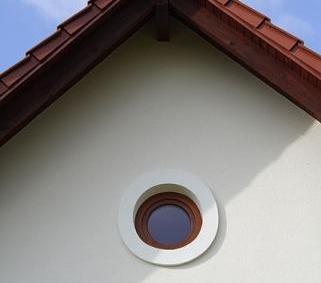 Okrągłe okno pcv