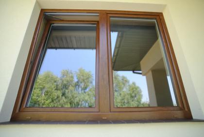 Zewnętrzny wygląd okien pcv