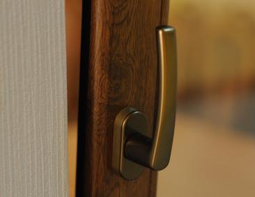 Stylowa klamka okienna