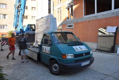 Bezpieczny transport okien pcv