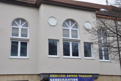 Stylowe okna białe