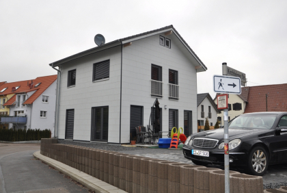 Jednorodzinny dom - Okna PCV