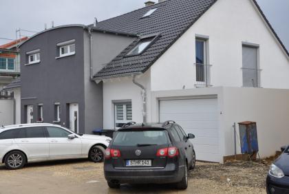 Białe okna PCV - Dom jednorodzinny